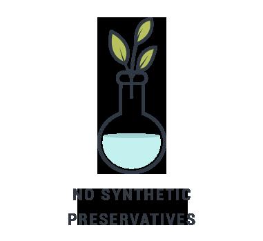 ABM no synthetic preservatives